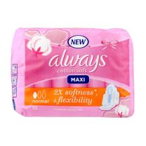 Always Maxi Cotton Soft Pads