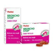 Pholtex Bronchostop® Cough Syrup & Cough Pastilles