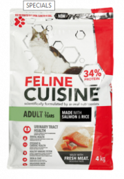 Feline Cuisine Salmon and Rice