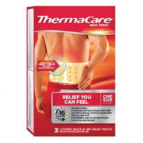 ThermaCare Back & Hip Heat Patch 3's